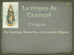 La virgen de Caacupe - 1b-copaamerica
