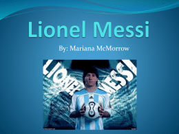 Lionel Messi - profepickett