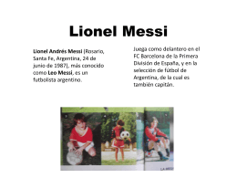 Lionel Messi - WordPress.com