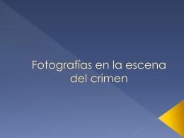 FOTOGRAFIA BASICA DE LA ESCENA