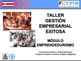 Gestión Empresarial Exitosa, PPTT