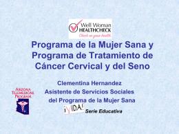 WWHCP presentación Espanol