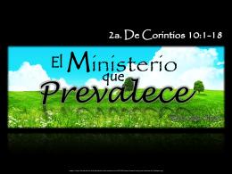 El Ministerio que