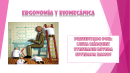 biomecania y ergonomia