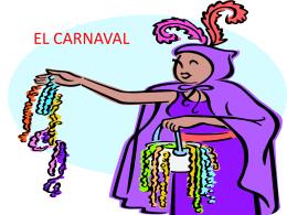 carnaval - Colegio Esclavas de María