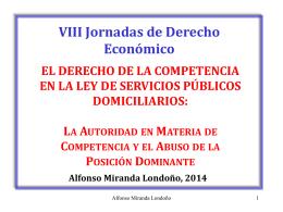 Alfonso Miranda Londoño - Centro de Estudios de Derecho de la