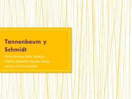 Tannenbaum y Schmidt