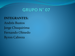 TIPOS DE MEMORIAS - JORGE CHUQUIRIMA