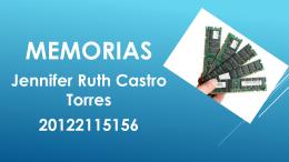 MEMORIAS RAM ROM Y CACHE