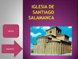 IGLESIA DE SANTIAGO SALAMANCA