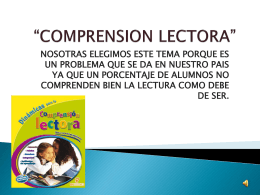 Descarga - la comprension lectora