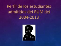 Presentation para Decanato Estudiantes