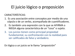 LOGICA silogismo parte 2_ LA PROPOSICION - 8