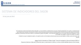 1407114 - Presentación Sistema de Indicadores
