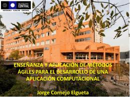 Presentación Jorge Cornejo