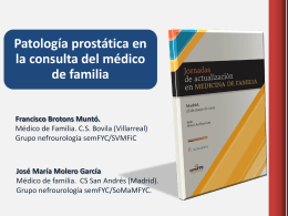 Prostatitis: aguda y crónicas