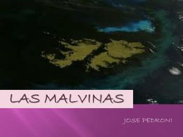 poesía Malvinas