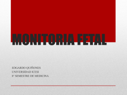 MONITORIA FETAL