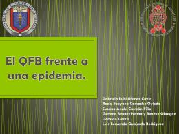 El QFB frente a una epidemia.