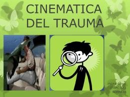 clase cinematica del trauma