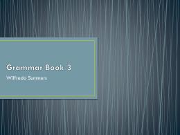 Grammar Book 3
