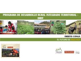 Ver la presentación del DRIT - Asociación Los Andes de Cajamarca