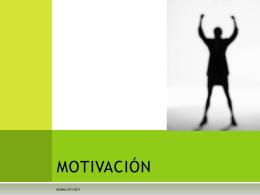motivación - MGMM UTH (Beta)
