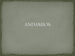ANDAMIOS.