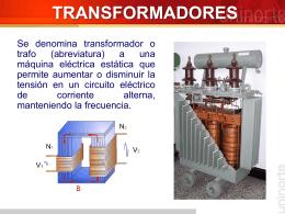 Transformadores generalidades y conexiones