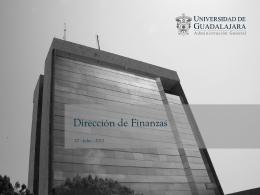 4.- Dirección de Finanzas - Consejo de Rectores