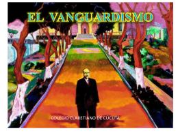 expresionismo - Colegio Claretiano de Cúcuta