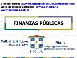 Presentación de PowerPoint - FINANZAS PÚBLICAS
