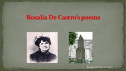 Rosalia De Castro`s poems
