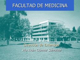 extensión - Facultad de Medicina