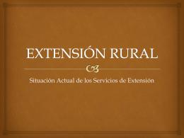 EXTENSIÓN RURAL - Holmes Rodriguez