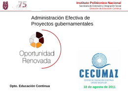 Repositorio Digital - Instituto Politécnico Nacional