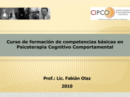 Relajación - Centro Integral de Psicoterapias Cognitivas (CIPCO)