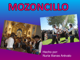 fiestas que Mozoncillo - ies catalina de lancaster