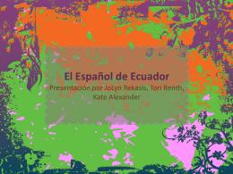 El Español de Ecuador