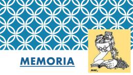 Bloque IV- La memoria