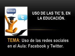 redes sociales - WordPress.com