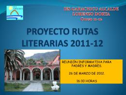 IES GARACHICO ALCALDE LORENZO DORTA Curso 11
