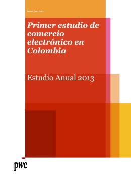 Primer estudio de comercio electrónico en Colombia