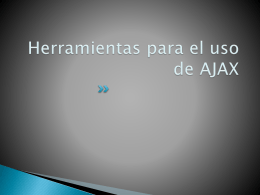 Formularios con AJAX - Repositorio Digital