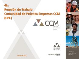 Diapositiva 1 - Consejo de Competencias Mineras
