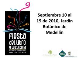 Fiesta del Libro Medellín