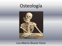 Osteología - Anatomía y Fisiología Humana