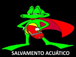SALVAMENTO ACUATICO
