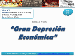 Crisis 1929 - WordPress.com