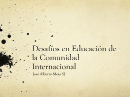 Jose alberto Mesa SJ